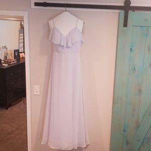 "Size 10 Morilee bridesmaid dress ""fog"""